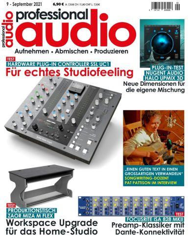 Cover: Professional Audio Magazin No 09 September 2021