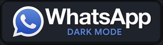 WhatsApp Desktop Dark Mode by m4heshd