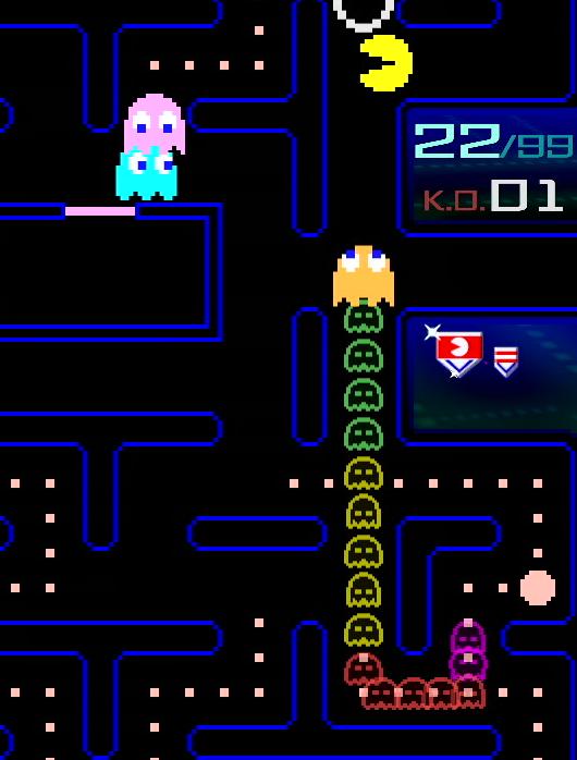 「Nintendo Switch Online」加入者限定特典 「PAC-MAN」99人大逃殺殊死戰《PAC-MAN 99》繁體中文版即日起免費發布 07