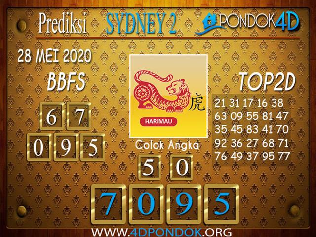 Prediksi Togel SYDNEY 2 PONDOK4D 28 MEI 2020