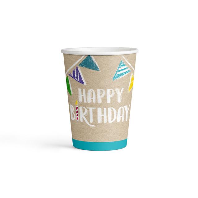8 ჭიქა My Birthday Party 250მლ