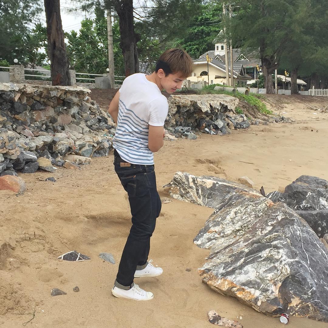 Arm Assawuth, trai mới lớn 6 múi Thái đam mê thể thao