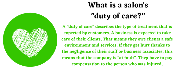 duty of care beauty compensation claims help