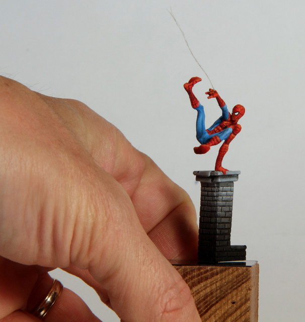 Spiderman (Knight Models 35mm) IMG-3357