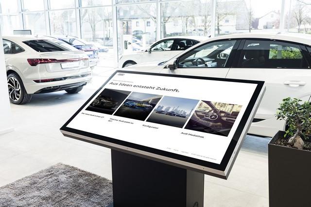 Durable et numérique : Audi ouvre un nouveau concept-store à Munich A211631-medium