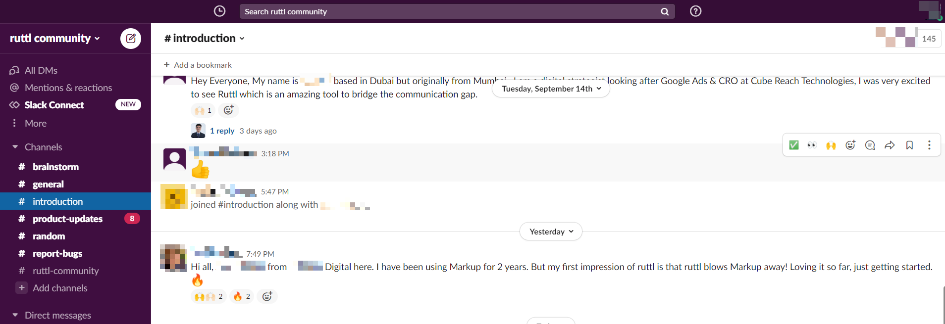 Ruttl feedback image