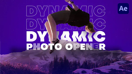 Dynamic Photo Opener 32443690 - Project for After Effects (Videohive)