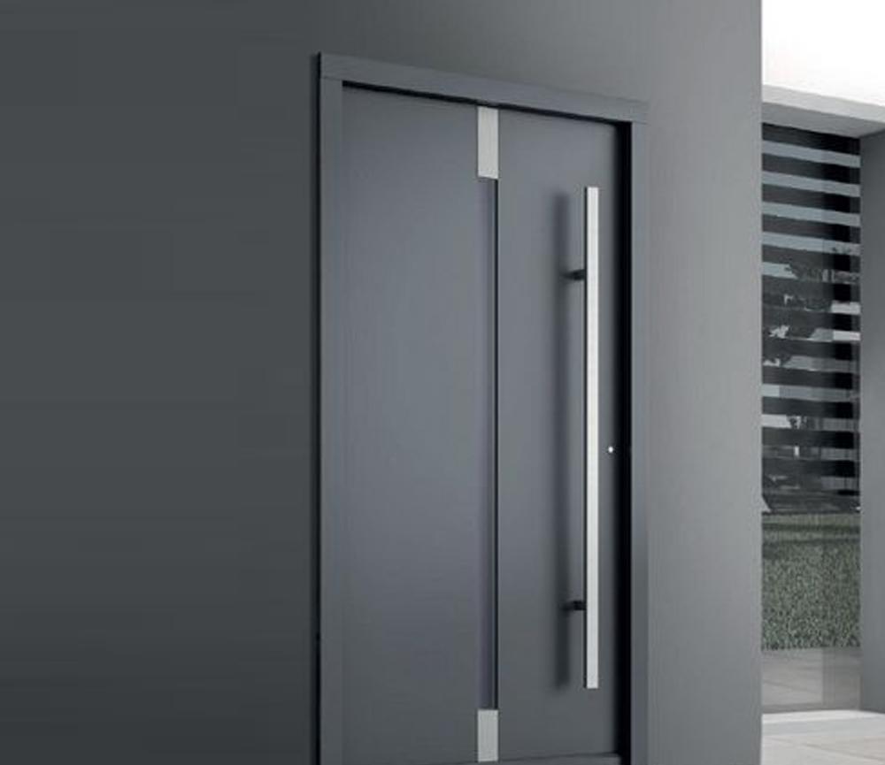 desain pintu yang Senada Dengan Dinding Rumah