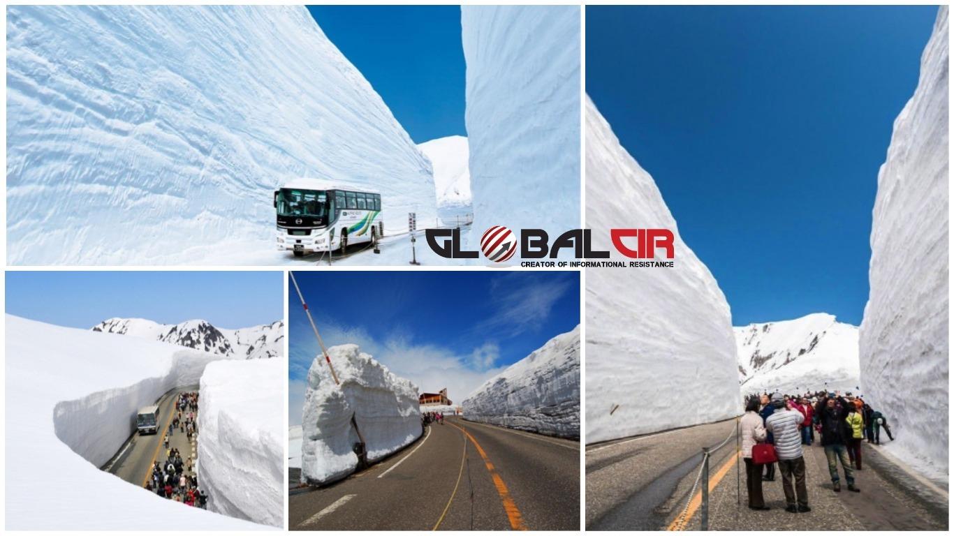 TURISTIČKA ATRAKCIJA: Šetnja među snježnim zidovima visokim i do 20 metara!