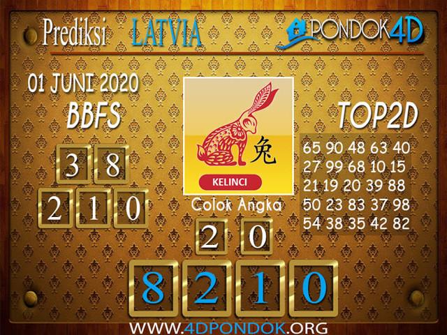 Prediksi Togel LATVIA POOLS PONDOK4D 01 JUNI 2020