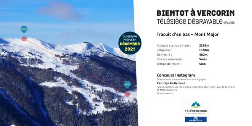 Construction TSD4 Tracuit d'en Bas - Mont Major Projettsdtracuit