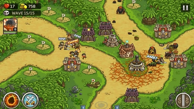 Kingdom Rush Frontiers – Tower Defense Game 3