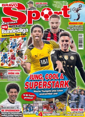 Bravo Sport Jugendmagazin No 12 vom 28  Oktober 2021