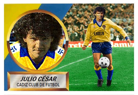 Cromos olvidados del Cádiz de Ediciones Este 88-89-Julio-Cesar