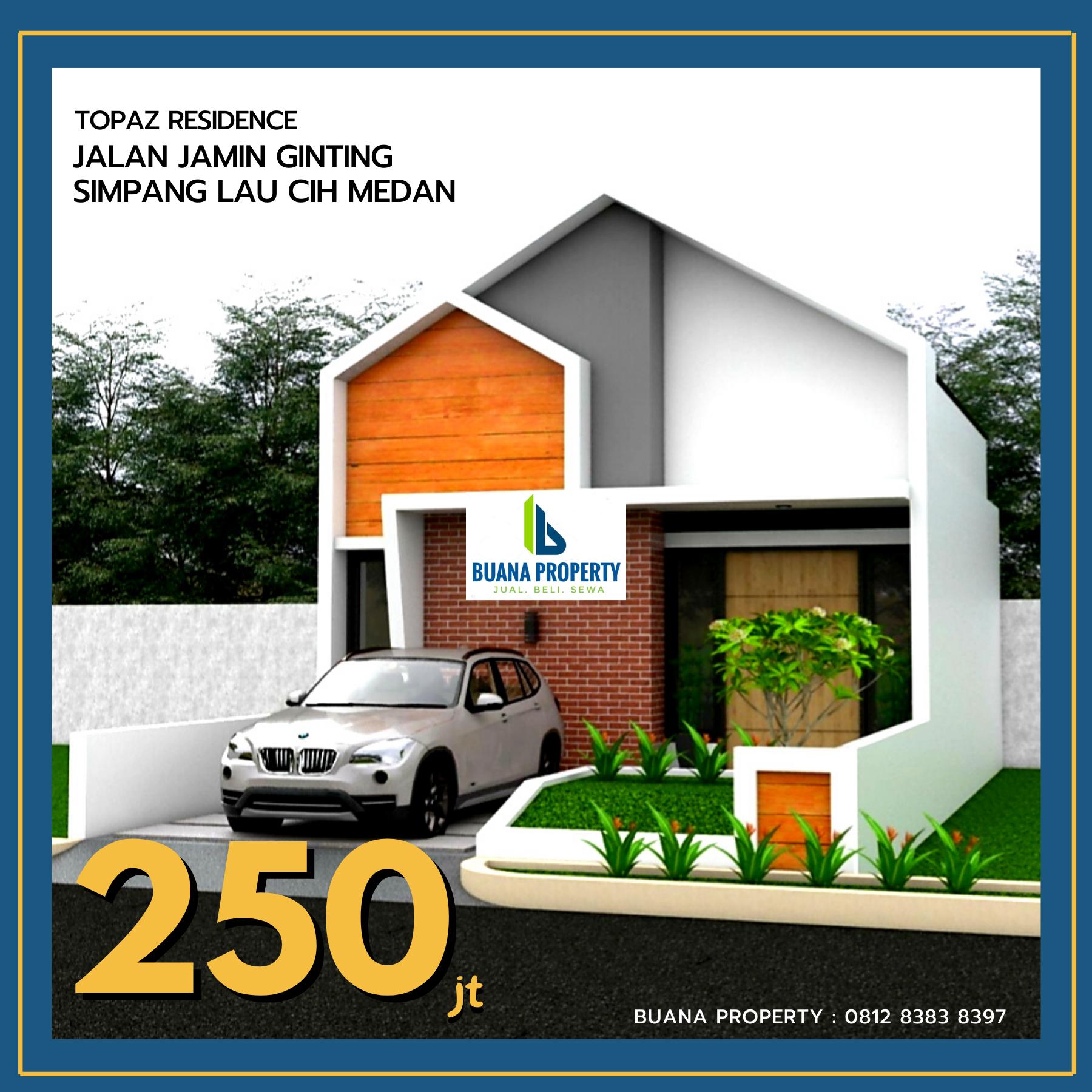 Rumah-200-jutaan-di-pinggir-jalan-besar-Jamin-Ginting-Simpang-Lau-Cih-Medan-Topaz-Residence-BP2