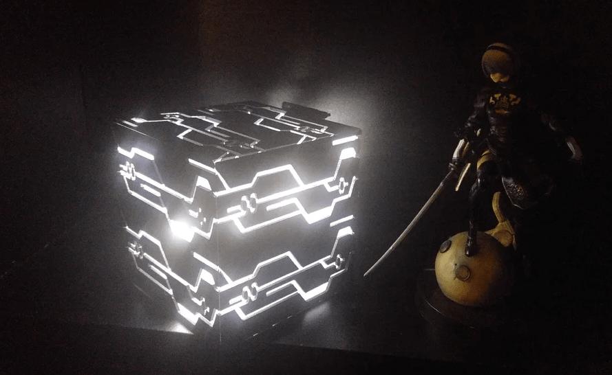 Blackbox Nier Automata 3D Print Model from CalculatedCosplay