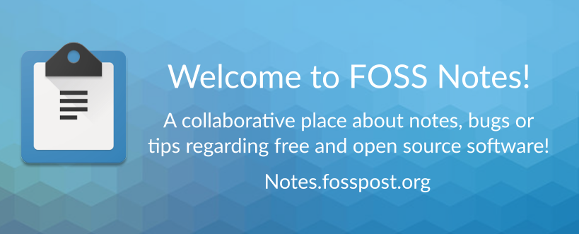 FOSS Notes