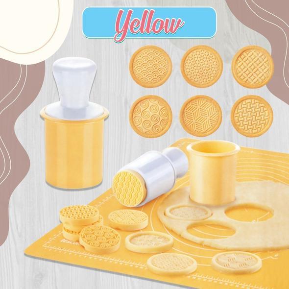 DIY Decorating Cookie Stamp Set