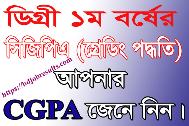Degree-CGPA-System