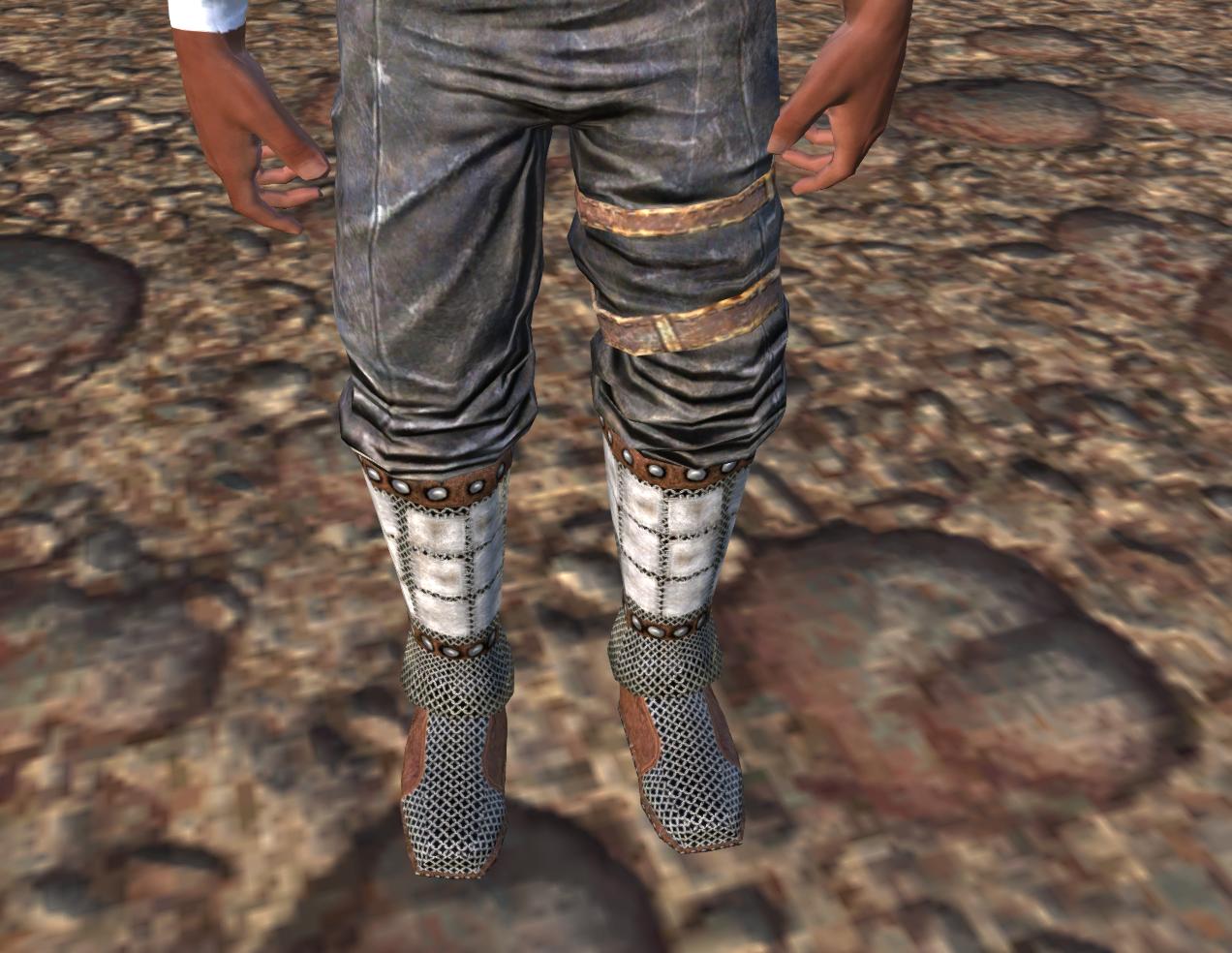 Кольчужные ботинки / Chainmail Boots (RU)