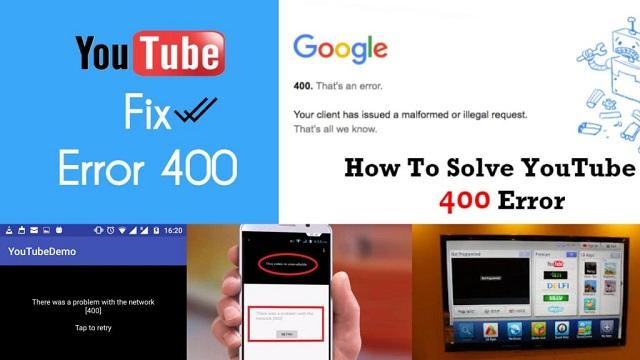 Cara Mengatasi Masalah Server 400 Di Youtube Android Anti Ribet!