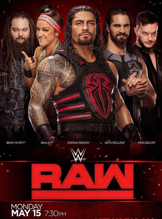 WWE Monday Night Raw (7th September 2020) English 720p HDTV 1.4GB | 400MB Download