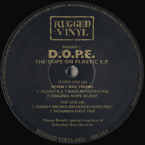 D.O.P.E. - The Dope On Plastic E.P. 1993