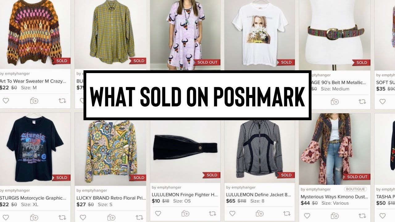 What To Sell On Poshmark 2020? Best Products For Selling!