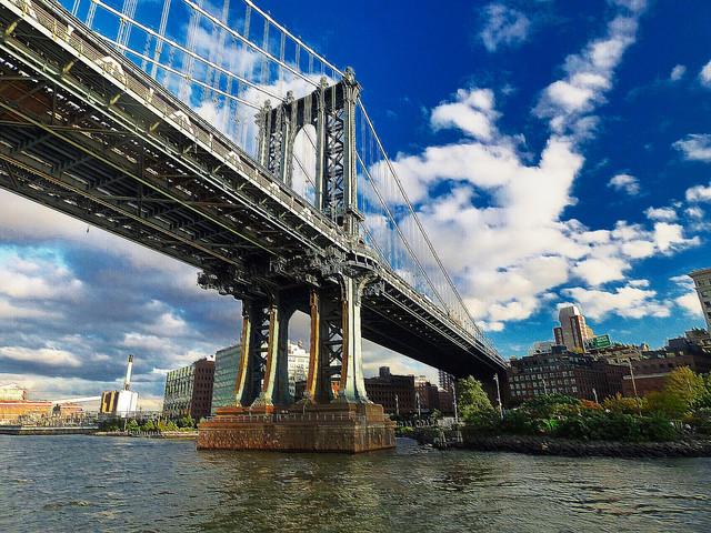 Manhattan Bridge Clouds.jpg