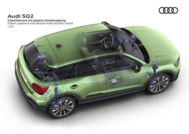 Voiture de sport compacte d'exception : Audi donne à l'Audi SQ2 un design encore plus abouti A208395-medium