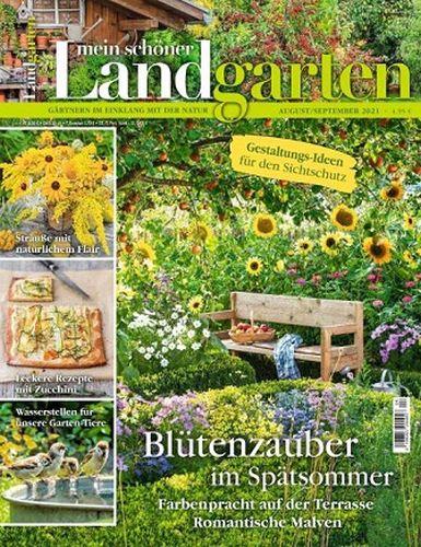 Cover: Mein schöner Landgarten August-September No 04 2021