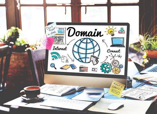 Domain-Global-Communication-Homepage-Www-Concept