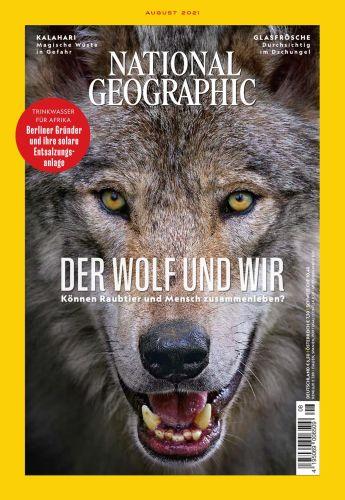 Cover: National Geographic Deutschland Magazin No 08 August 2021