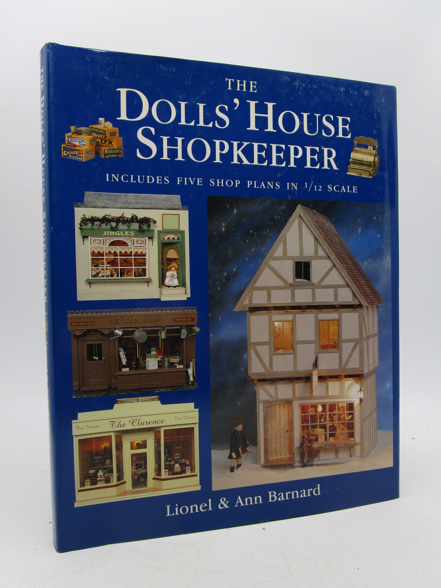 Image for The Dolls' House Shopkeeper: Includes Five Shop Plans in 1/12 Scale