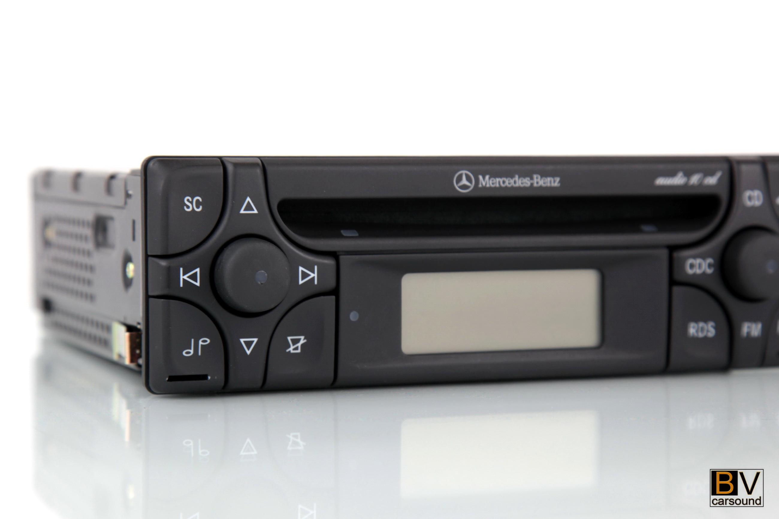 radio mercedes audio 10 cd aux mp3 alpine mf2910 slk. Black Bedroom Furniture Sets. Home Design Ideas