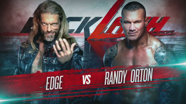 Orton vs Edge