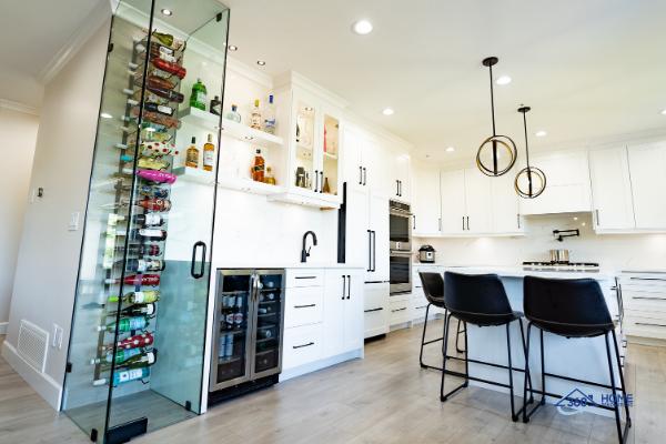 360-Home-Renovations-Kitchen-wine-rack-Pitt-Meadows