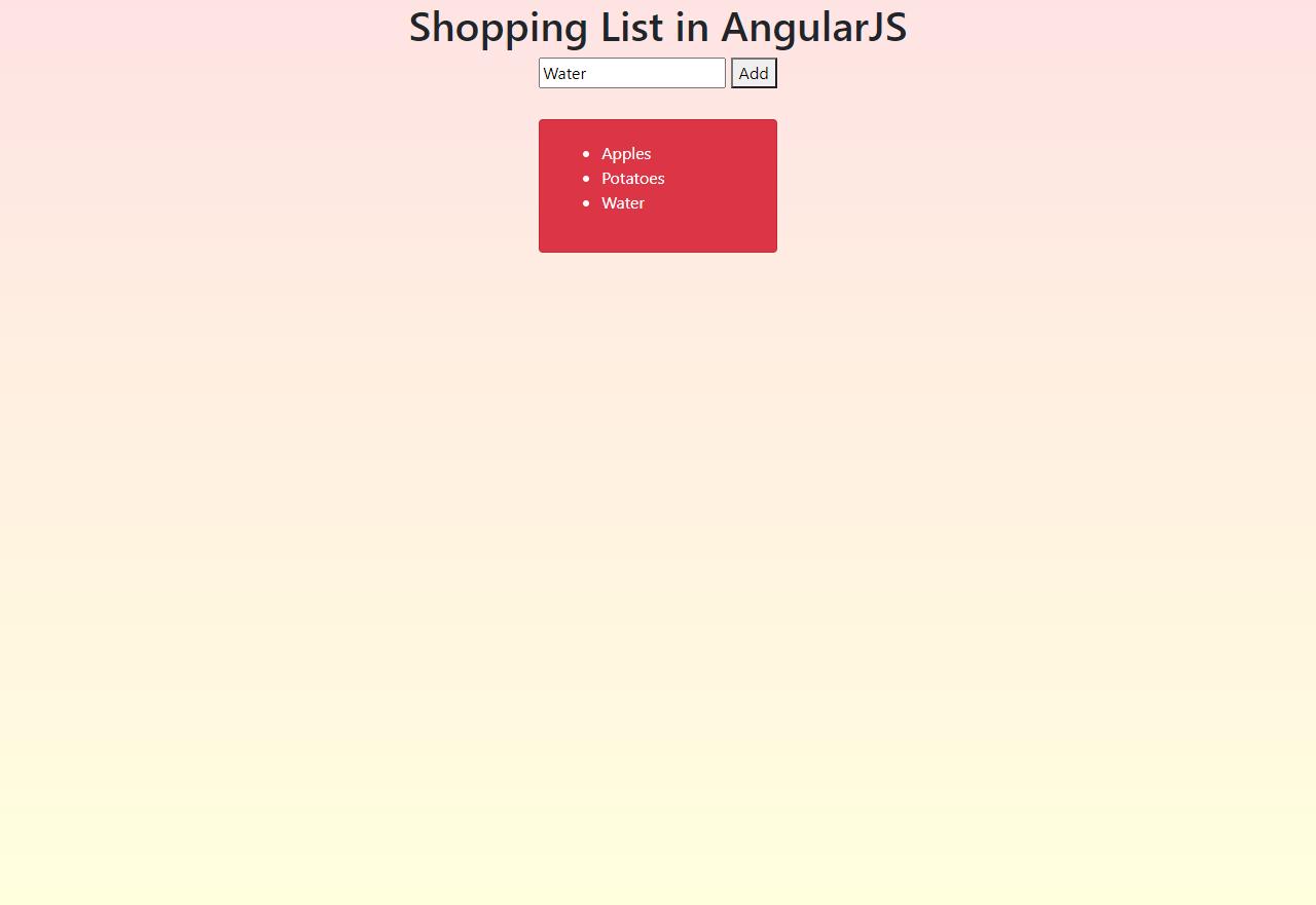 Coursera Angular
