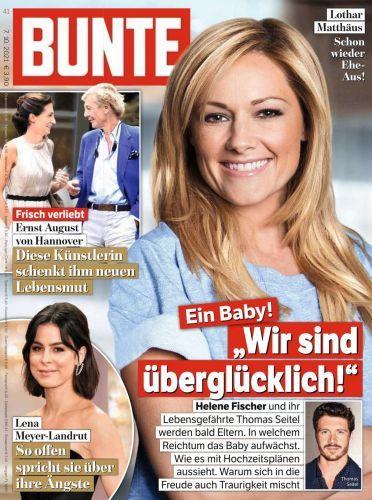 Cover: Bunte Magazin No 41 vom 07  Oktober 2021