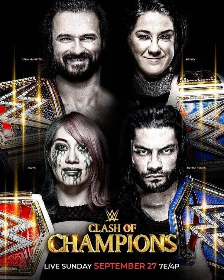WWE: Clash of Champions 2020 English PPV 720p HDTV 1.2GB | 550MB Download