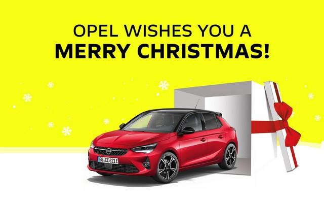 Opel vous souhaite de bonnes fêtes de fin d'année – portez-vous bien en 2021 Opel-Weihnachtsgru-2020-513874