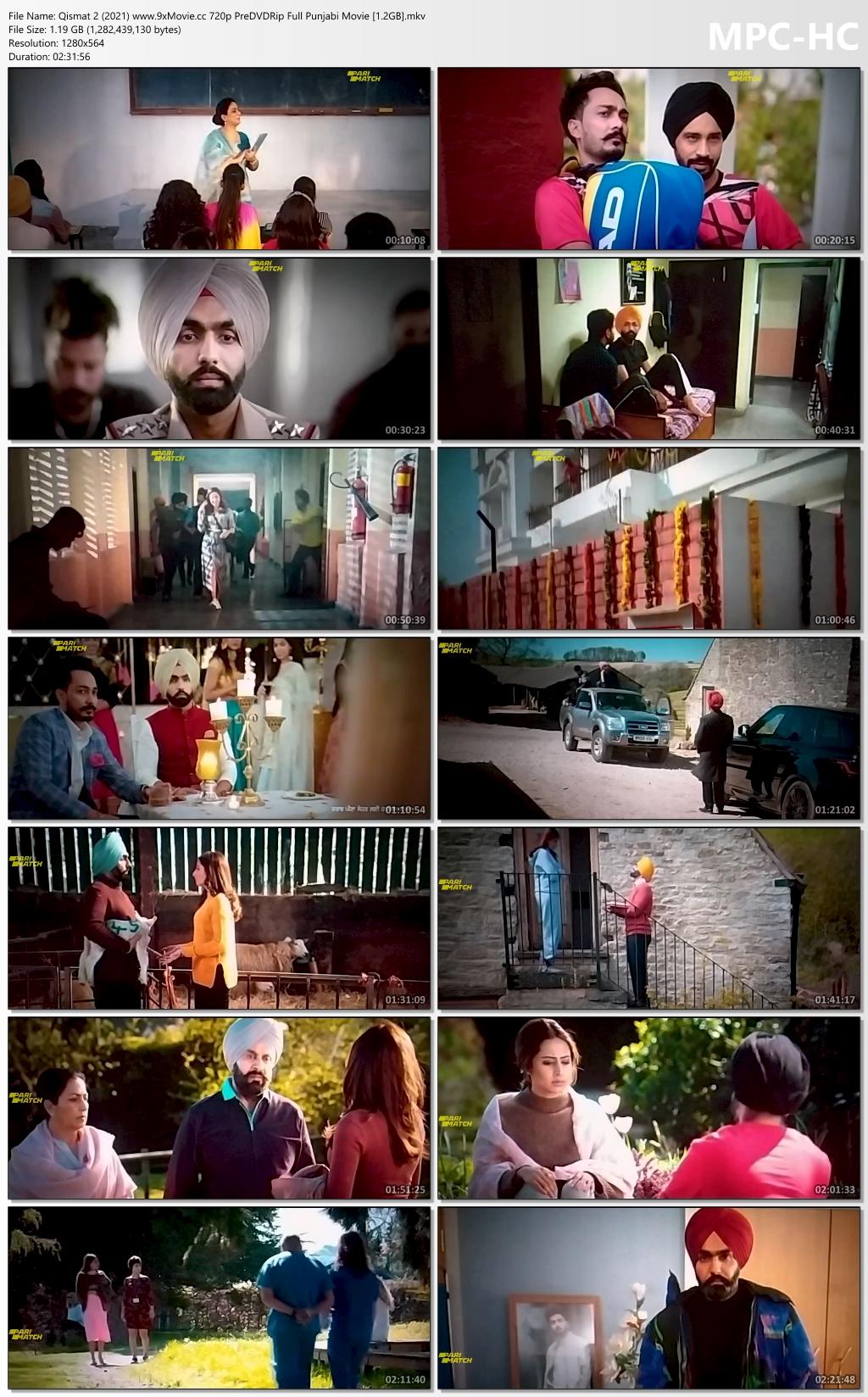 Qismat-2-2021-www-9x-Movie-cc-720p-Pre-DVDRip-Full-Punjabi-Movie-1-2-GB-mkv