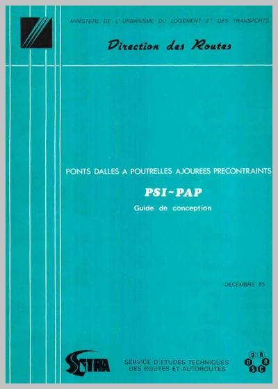 Ponts-dalles à poutrelles ajourées précontraints (PSI-PAP) - Conception