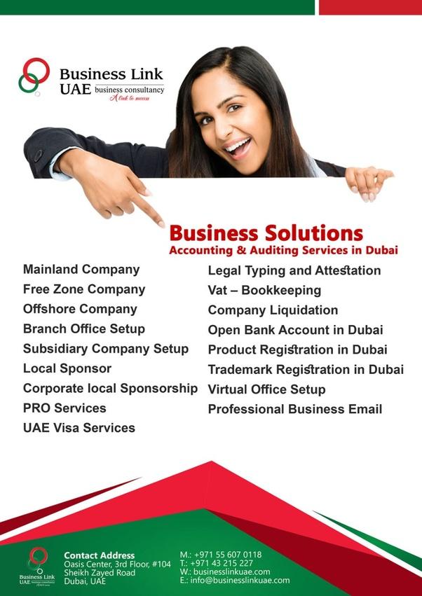 Business Setup in Dubai   Business Link UAE