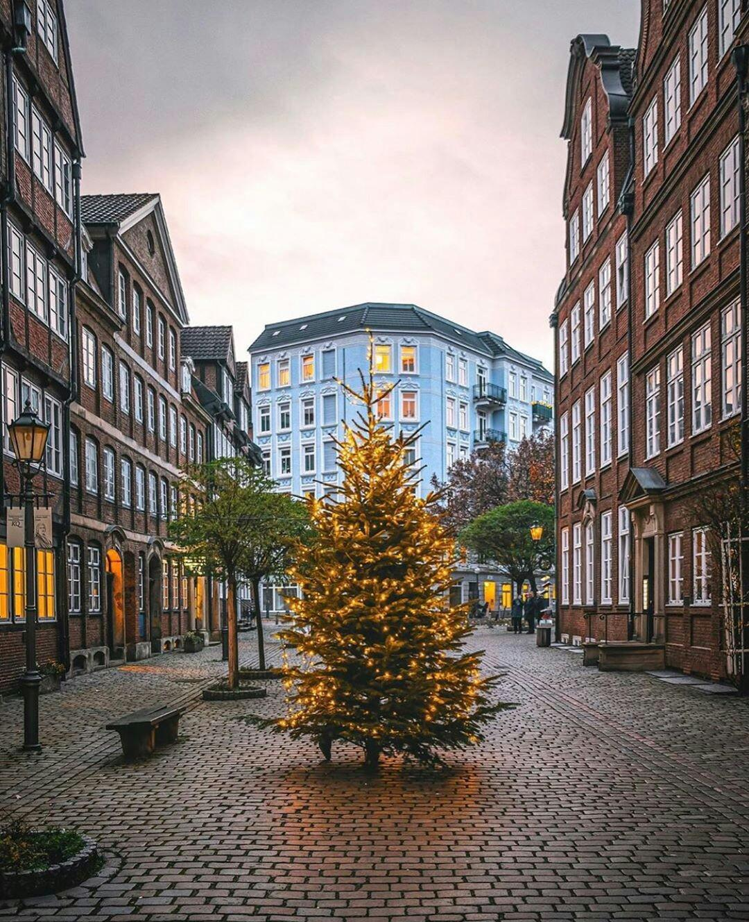 Hamburg, Germany During Christmas