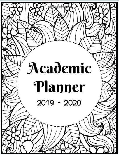 academic planner 2019-2020 student