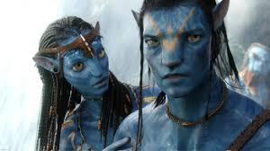 Neytiri (Zoe Saldana) teaches Jake Sully (Sam Worthington) the ways of the Navi