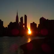 Manhattanhenge East River