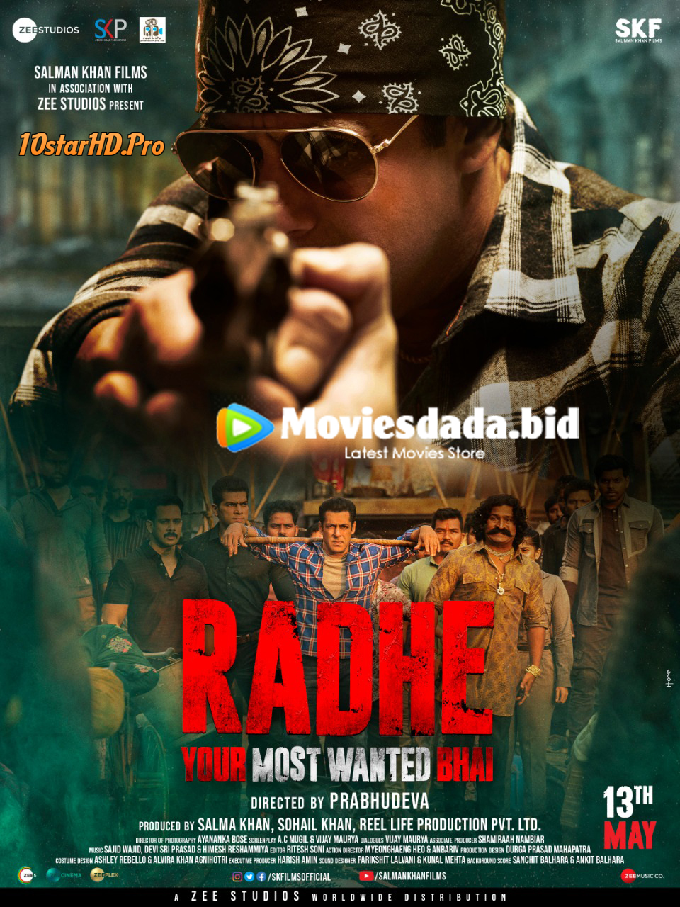 Radhe (2021) Hindi Full Movie 1080p WEB-DL x264 AAC 2.3GB Download