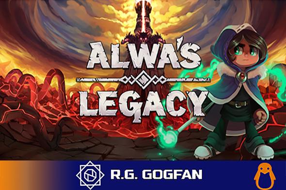 Alwa's Legacy (Elden Pixels) (ENG|SVE) [DL|GOG] / [Linux]